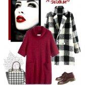 Чорне пальто: з чим носити, де купити і .. Олівія Палермо!