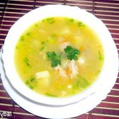Гороховий суп з куркою