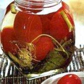 Рецепт консервування смачних, запашних помідор