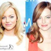 Зміна кольору волосся у знаменитостей