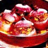 Як приготувати лук, фарширований грибами