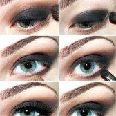 Як зробити вечірній макіяж очей
