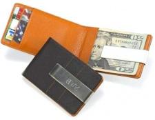 Гаманець і затиск для грошей