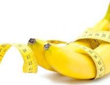 Бананова дієта для схуднення на 3 дні і 7 днів