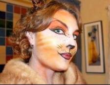 Готуємося до Хеллоуїну: макіяж кішки