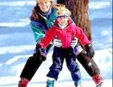 Як навчити дитину кататися на лижах