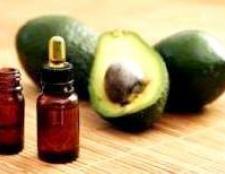 Масло авокадо для волосся