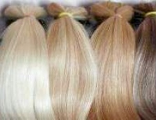 Натуральні волосся на шпильках
